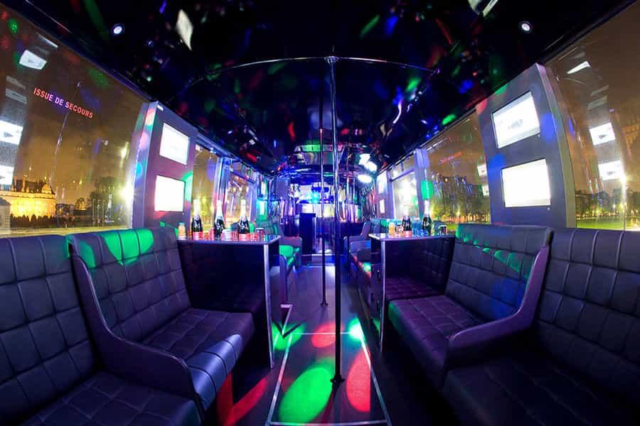 Un bus discothèque pour la fête de la musique à Rouen !!