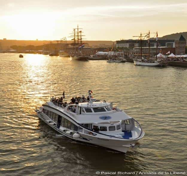 Une balade sur la seine pendant l'armada 2019