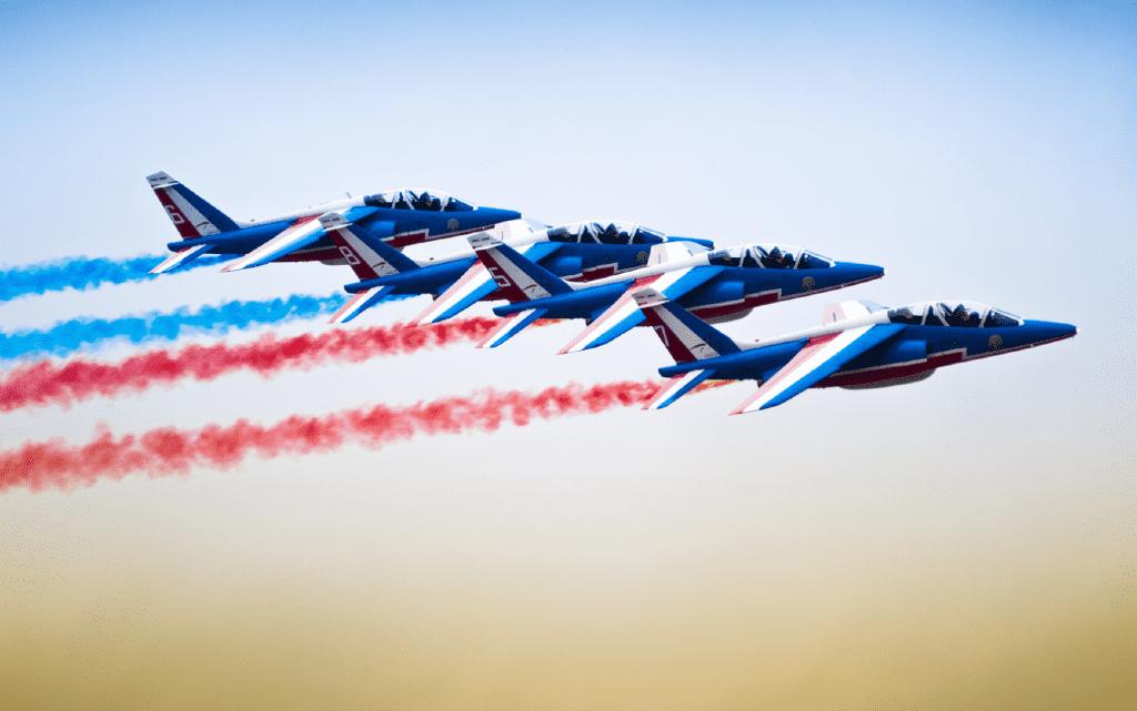 La Patrouille de France survolera l'Armada