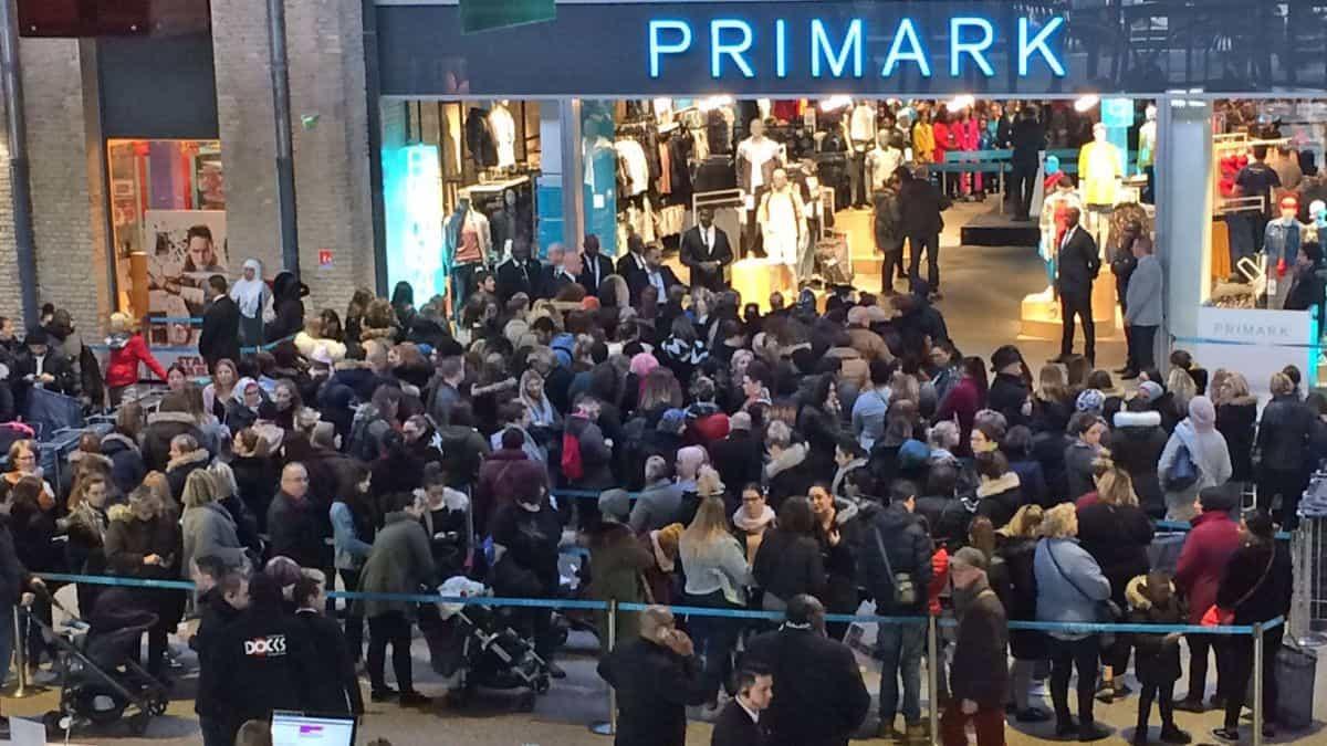 Une magasin Primark arrive à Rouen